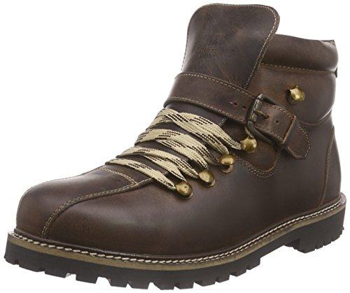 Bergheimer Trachtenschuhe Heiligenblut, Herren Chukka Boots, Braun (brown), 43 EU