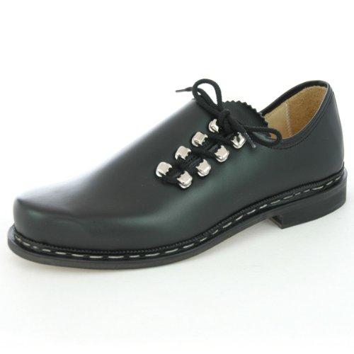 Haferlschuh in Schwarz von Huber Trachtenschuhe, Schuhgröße:45;Farbe:Schwarz